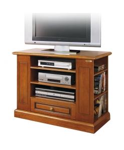 TV-Rack mit Sockelleiste, TV-Rack