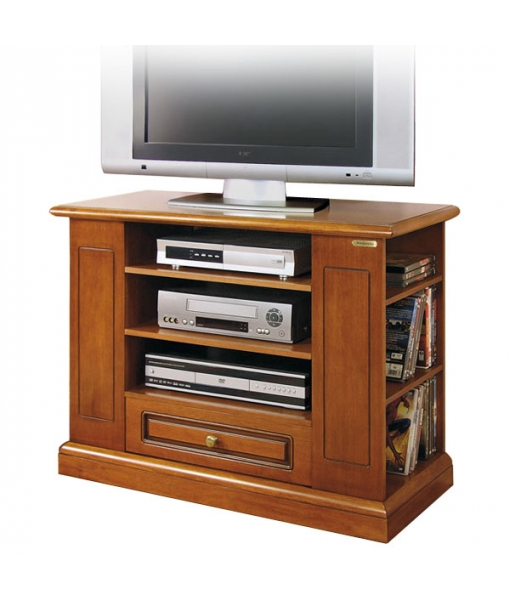 tv rack mit sockelleiste frank m bel. Black Bedroom Furniture Sets. Home Design Ideas