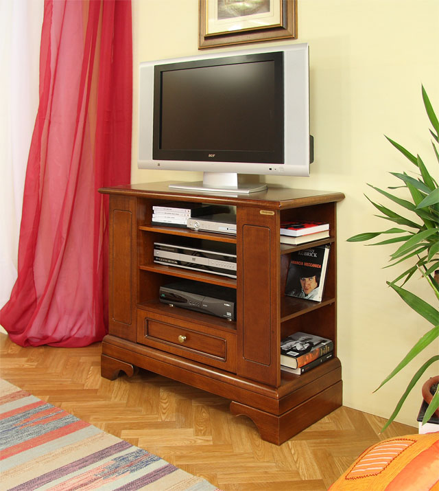 tv rack mit sockel plus frank m bel. Black Bedroom Furniture Sets. Home Design Ideas