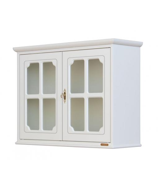kleine vitrine h ngend 2 t ren frank m bel. Black Bedroom Furniture Sets. Home Design Ideas