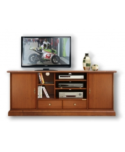 TV-Schrank glatt 160, Schrank TV glatt