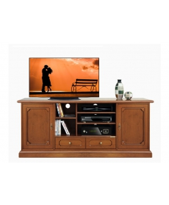TV-Schrank 160 cm, Tv-Schrak Made in Italy