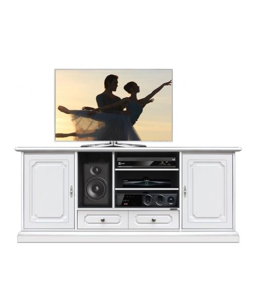 tv schrank holz home cinema 160 cm frank m bel. Black Bedroom Furniture Sets. Home Design Ideas