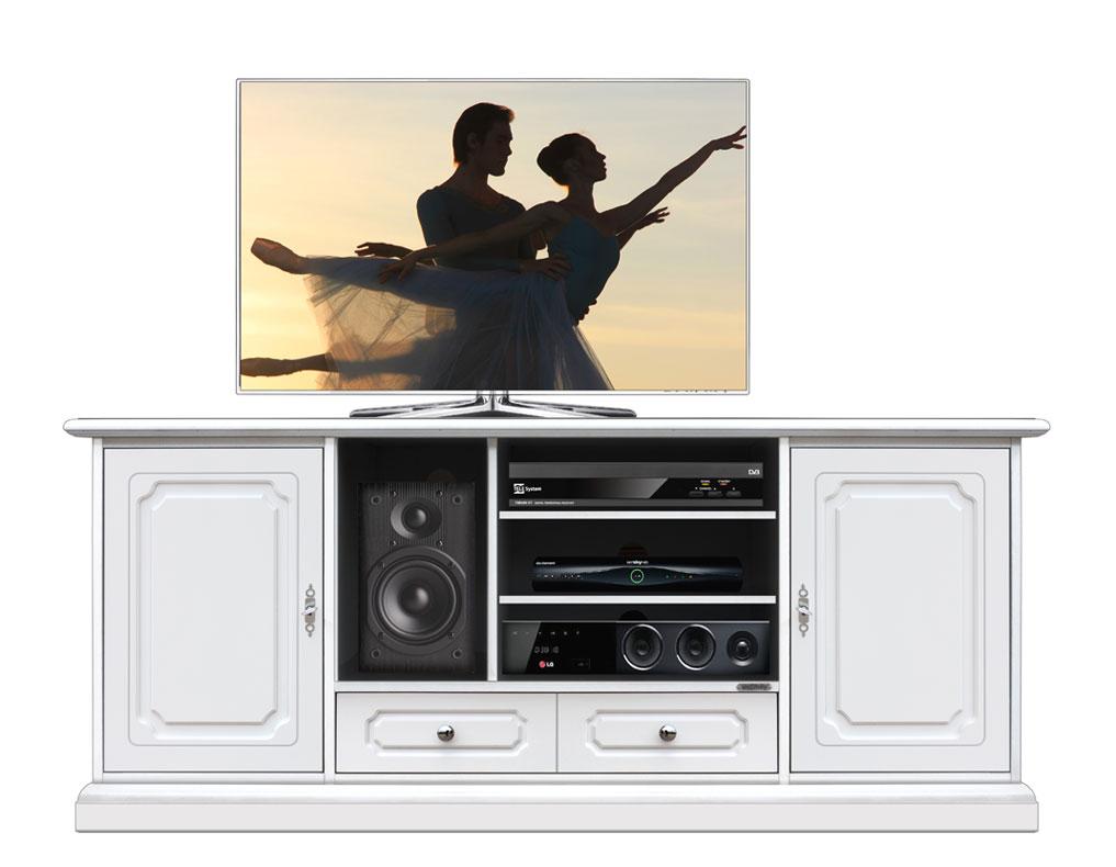 tv-schrank holz home cinema 160 cm - frank möbel