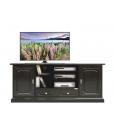 TV-Lowboard Schwarz, Möbel Tv