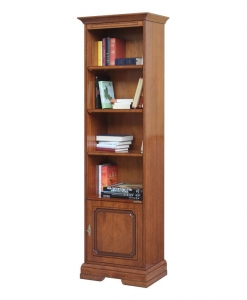 Bücherschrank mit Tür