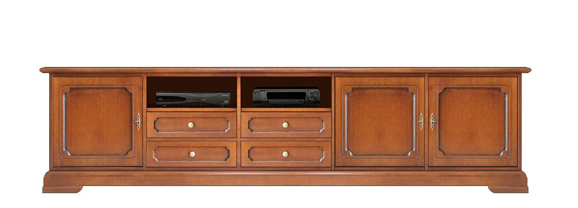 TV Lowboard 250 Cm Klassischer Stil
