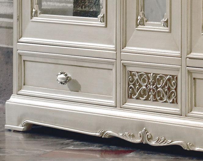 glasvitrine exclusive klassik frank m bel. Black Bedroom Furniture Sets. Home Design Ideas