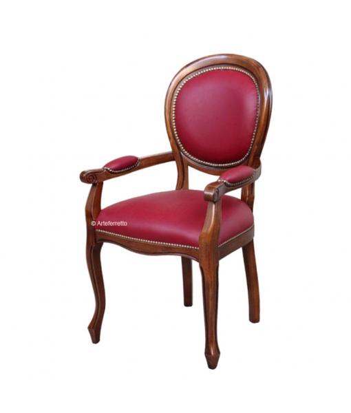 armlehnstuhl gepolstert klassischer stil frank m bel. Black Bedroom Furniture Sets. Home Design Ideas