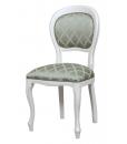 Gepolsterter Stuhl, Polsterstuhl, klassischer Stuhl