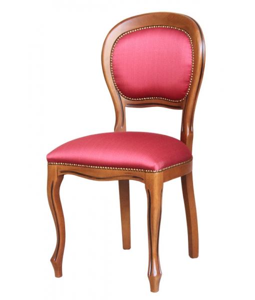 Gepolsterter Stuhl, Polsterstuhl, klassischer Stuhl, Art.-Nr. 434-plus