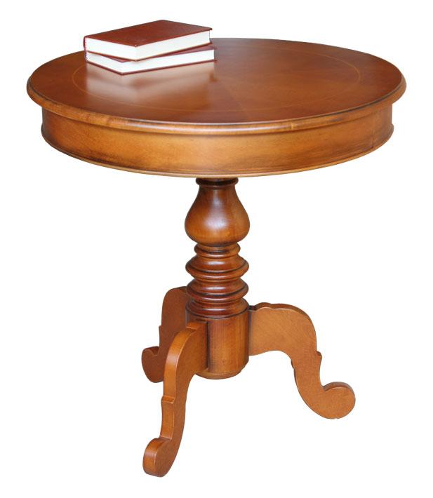runder tisch mit einlegearbeit cm frank m bel. Black Bedroom Furniture Sets. Home Design Ideas