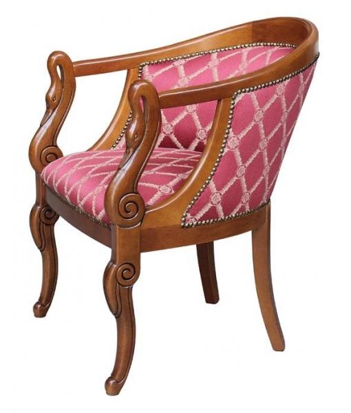 kleiner sessel schwan klassik frank m bel. Black Bedroom Furniture Sets. Home Design Ideas