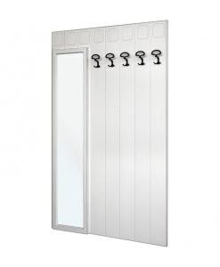 garderobe mit spiegel breite 114 cm frank m bel. Black Bedroom Furniture Sets. Home Design Ideas