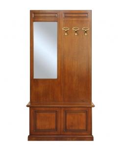 Garderobepaneel mit Truhe, Garderobe-Set