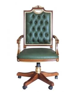 Drehsessel, Sessel Büro, Ledersessel