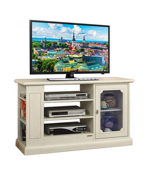TV-Rack mit Tür und Einlegeböden 809-275