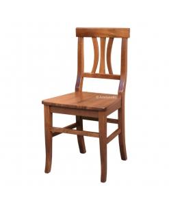 Stuhl mit Sitz aus Holz jeden Tag