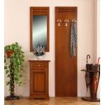 Garderobe-Set, Paneel mit Spiegel