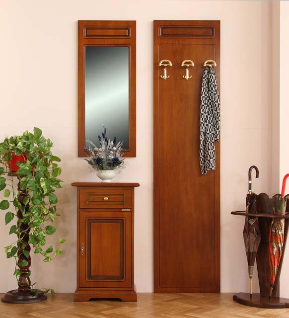 Garderoben set klassischer stil frank m bel - Attaccapanni con specchio ...