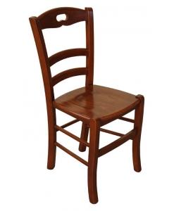 klassischer Stuhl Esszimmer, Stuhl Holzsitz