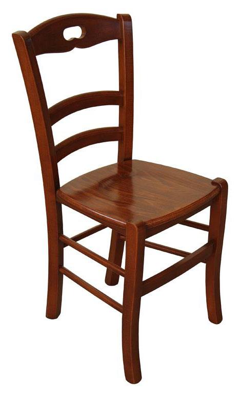 klassischer Stuhl Esszimmer Holzsitz - Frank Möbel