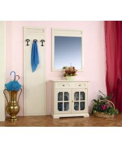 Garderobe-Set lackiert