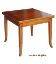 Quadratischer Tisch, Tisch 90 cm