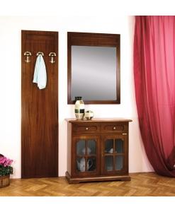 Garderobe-Set, Garderobe mit Spiegel