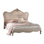 Klassisches Doppelbett, Doppelbett mit Polsterung