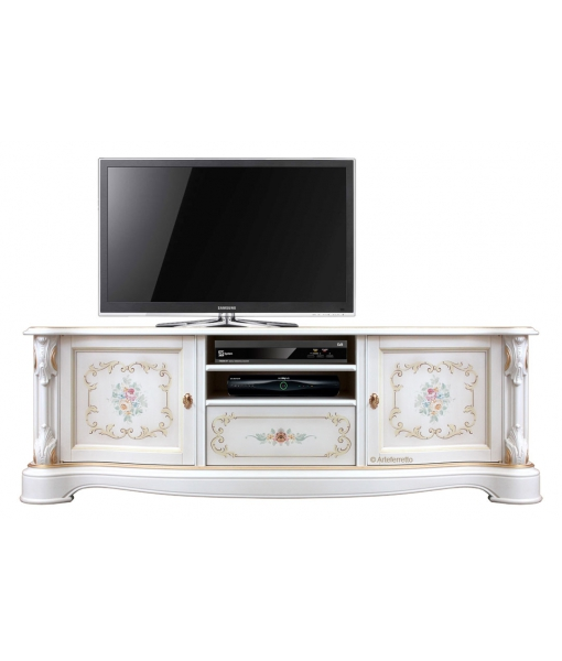 Lackiertes Möbel Tv mit Dekor, Art.-Nr.: A-31