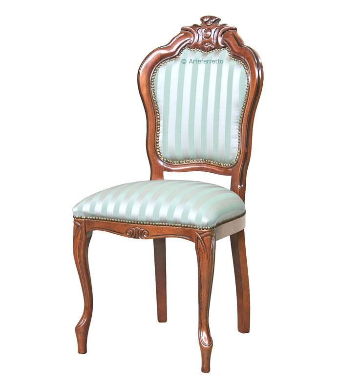 Möbel aus klassisch Stuhl Style Frank Holz mit Schnitzerei Yb76ygfv