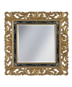 Quadratischer Spiegel,Spiegel Blattgold