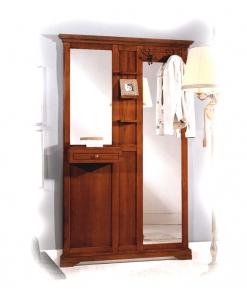Garderobe, Garderobe mit Spiegel