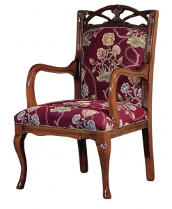 Sessel mit Schnitzarbeit, Klassischer Sessel