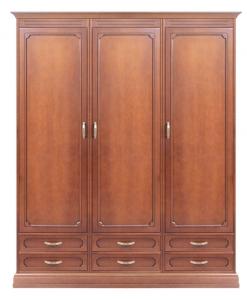 Schrank 3 Türen, Schrank Schlafzimmer