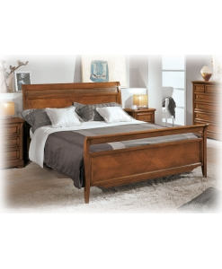 Bett 2 Schlafplätze Fischgräten