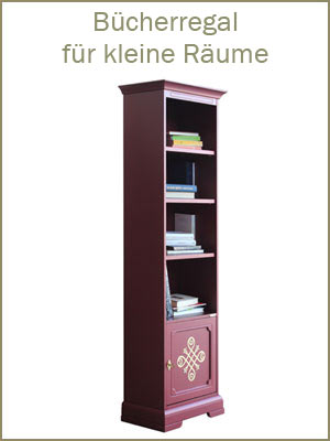 Kategorie Bücherregale, klassisches Bücherregal, klassisches Regal für Bücher, Bücherschrank, Regalschrank