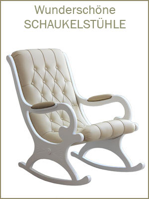 Kategorie Schaukelstühle, klassischer Schaukelstuhl, Schaukelstuhl Made in Italy, Möbel Schaukelstuhl, Polsterschaukelstuhl,
