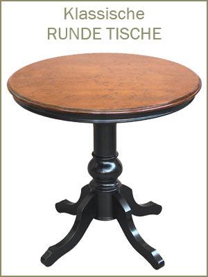 Kategorie Couchtische und Beistelltische, runder Tisch, klassische Couchtische, Beistelltische, klassischer Beistelltisch