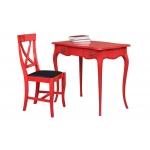 Stuhl mit Schreibtisch, Büro-Set