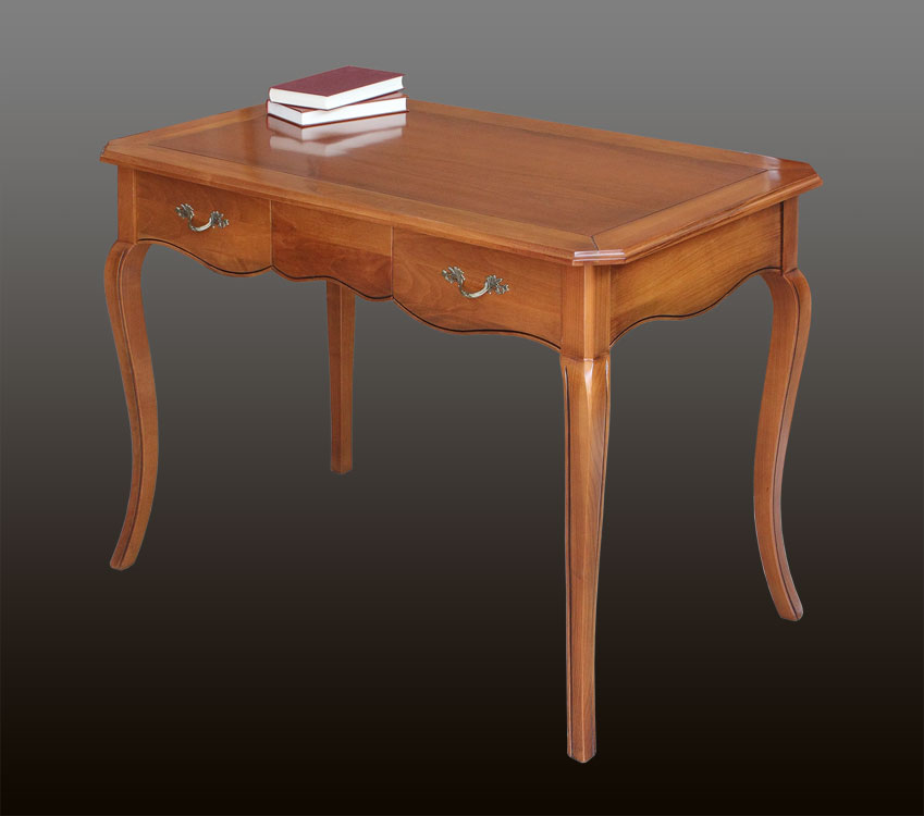 Schreibtisch massivholz kirschbaum frank m bel for Schreibtisch kirschbaum