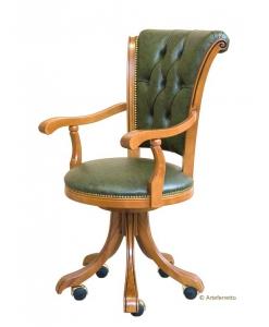 Sessel mit Rollen, Sessel Büro