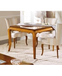 Viereckiger Tisch, quadratischer Tisch