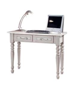Schreibtisch mit Schubladen, Schreibtisch grau