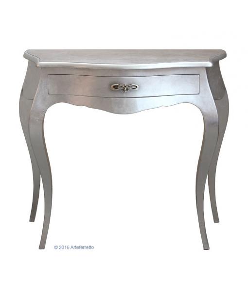 konsolentisch blattsilber elegant frank m bel. Black Bedroom Furniture Sets. Home Design Ideas