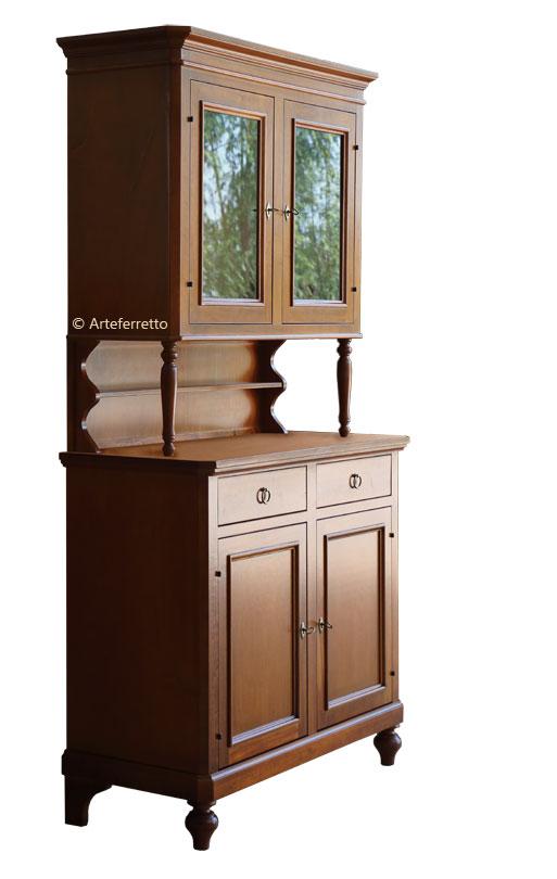 anrichte mit aufsatz ars povera frank m bel. Black Bedroom Furniture Sets. Home Design Ideas