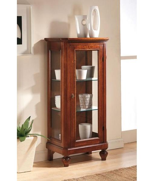 niedrige vitrine 1 glast r klassisch frank m bel. Black Bedroom Furniture Sets. Home Design Ideas