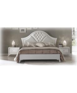 Bett mit Polsterung, Doppelbett, elegantes Bett