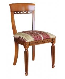 Stuhl Massivholz Stuhl mit Schnitzarbeit